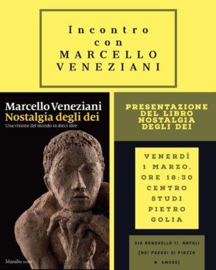 L'evento. Al Centro Studi Golia di Napoli arriva Marcello Veneziani