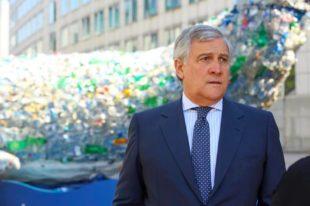 Antonio Tajani, presidente del Parlamento Ue