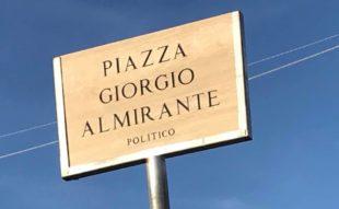 Inaugurata Piazza Almirante a Ladispoli nel Lazio