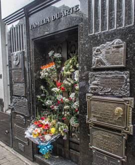 Buenos Aires, Recoleta, tomba Evita, dal 1976