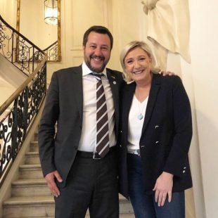 Europee. Il 18 maggio a Milano Salvini e la Le Pen chiudono la campagna sovranista