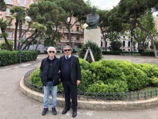 Bari. Una corona in ricordo di Araldo di Crollalanza, podestà, parlamentare e ministro