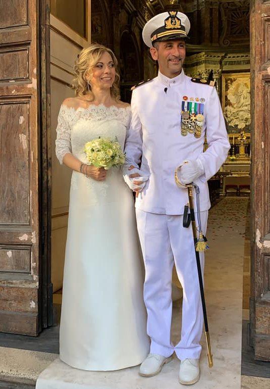 Marò. Il fuciliere Massimiliano Latorre sposa a Roma l'amata Paola