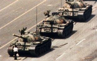 La storica protesta di Tienanmen