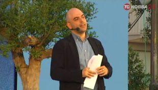 Roberto Saviano al festival Il libro possibile di Polignano a Mare