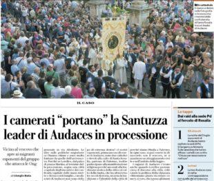 """Il caso. Repubblica vede """"fascisti"""" ovunque. Il falso scoop sulla devozione in nero"""