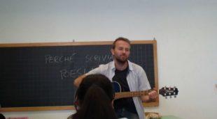Il docente Enrico Galiano