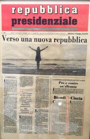 La proposta. Una nuova assemblea costituente per una Italia con un governo decisionista