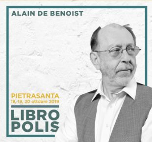 """Cultura. Arriva Libropolis: a Pietrasanta Cardini, Tarchi, de Benoist e il """"nostro"""" Novellini"""