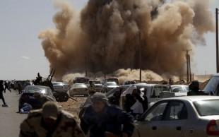 Una foto di reportorio dell'ultimo conflitto libico