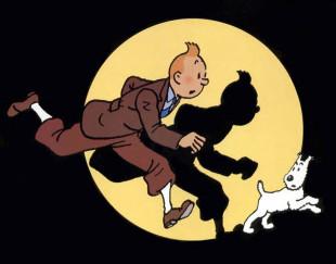 Tintin e il cane Milou
