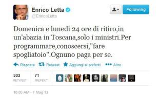 Tweet-di-Letta