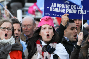 Manif in Francia