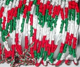 Bracciali tricolore