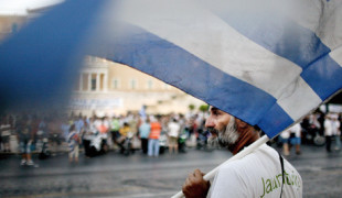 Protest rally in Athens