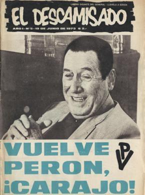 Il periodico El Descamisado