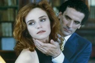 Francesca Neri con Massimo Troisi