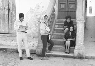 Pasolini ed Elsa Morante a Matera nel 1964 (Cineteca Bologna)