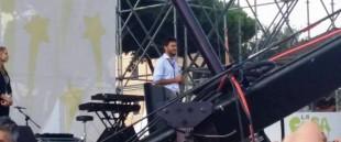 Alessandro Di Battista al Circo Massimo