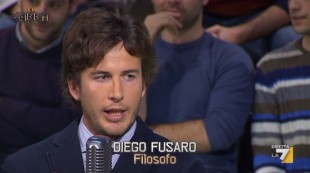 Diego Fusaro, filosofo i cui scritti trovano punti in comune con le battaglie di Salvini