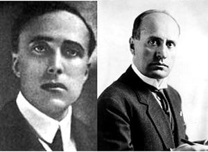 Matteotti e Mussolini