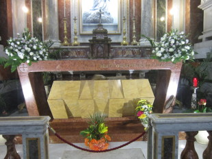 La tomba del beato Puglisi - foto Adonia.