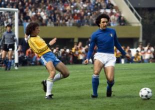 BRASILE - ITALIA 2-1  -  DIRCEU E SCIREA