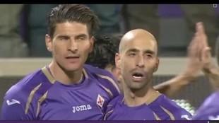 Gomez e Borja Valero