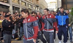 Nazionale italiana a Torino