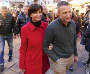 Patrizia Bisinelli e Flavio Tosi da Twitter