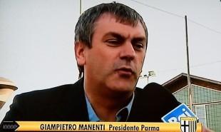 Il presidente del Parma Manenti, recentemente arrestato