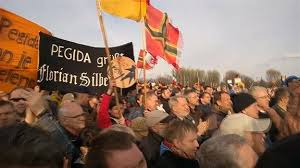 Una manifestazione di Pegida