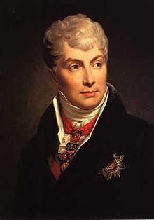 Klemens von Metternich in un ritratto del 1813
