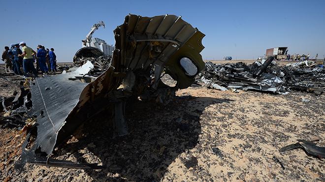 Una delle immagini dell'incidente del SInai, diffuse dal giornale russo Lifenews.