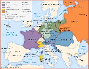 L'Europa del Congresso di Vienna (1814-1815)