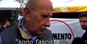 Vittorio Di Battista, già consigliere comunale del Msi a Viterbo: è il padre di Alessandro Di Battista, tra i leader del M5S