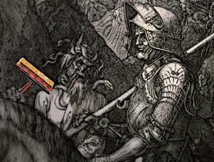 il cavaliere, la morte e il diavolo (dure)