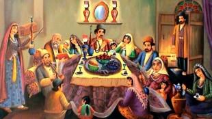 Un quadro de lo Sciabe Yalda