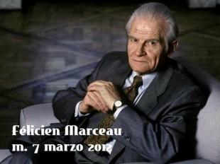Lo scrittore belga Felicien Marceau