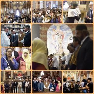 Musulmani nelle chiese in Europa per una preghiera dopo Rouen