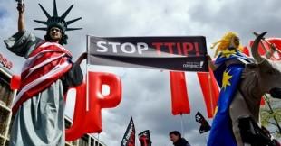 Le proteste contro il Ttip