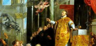 Il miracolo di Sant'Ignazio in un quadro di Rubens (Kunsthistorisches Museum, Vienna)