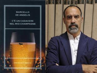 """De Angelis e il romanzo di Idrovolante """"C'è un cadavere nel mio champagne"""""""