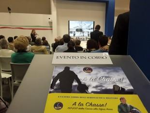 """Torino, Salone del Libro 2017. Presentazione di """"A la Chasse""""."""