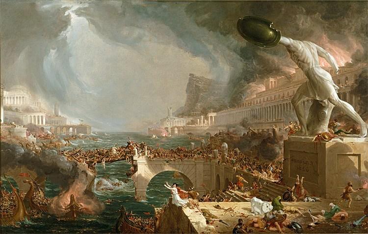 """Risultato immagini per distruzione di Roma"""""""