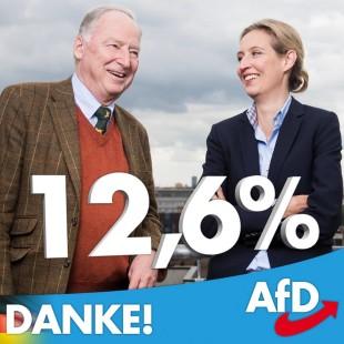 Alexander Gauland e Alice Weidel, i leader dell'AfD