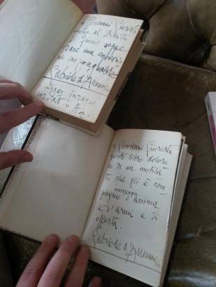 Collezione Garrera: libri autografati da Gabriele D'Annunzio