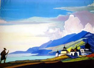 Un quadro di Roerich
