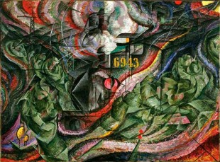 Gli addi, di Umberto Boccioni