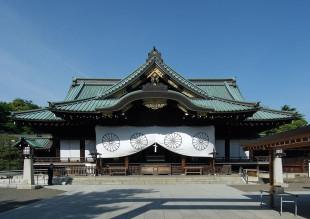 Lo Yasukuni, tempio di Tokyo dove riposano i caduti di tutte le guerre, compresi i Cavalieri del Vento Divino del secondo conflitto mondiale
